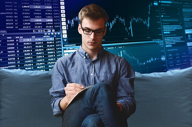 trader qui écrit