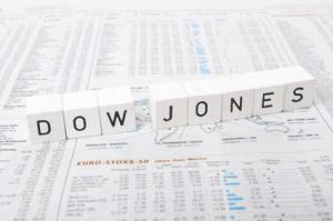 Buchstabenwürfel - Dow Jones